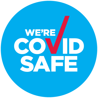 We're COVID Safe logo